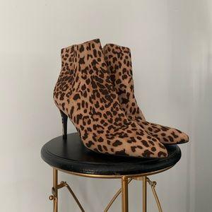 Leopard Print Booties Express